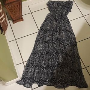 Strapless Hollister XS Dress